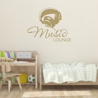 Style & Apply 'Music Lounge' Vinyl Wall Decal