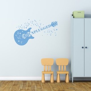 Style & Apply Unplugged Vinyl Wall Decal