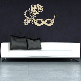 Style & Apply Venetian Mask Vinyl Wall Decal