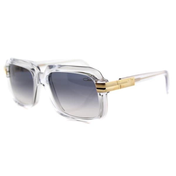 2918700b447 Cazal Cazal 607 065SG Vintage Crystal Plastic Square Grey Gradient Lens  Sunglasses