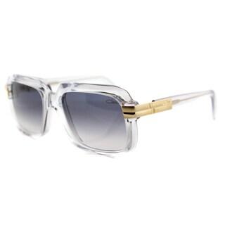 Cazal Cazal 607 065SG Vintage Crystal Plastic Square Grey Gradient Lens Sunglasses
