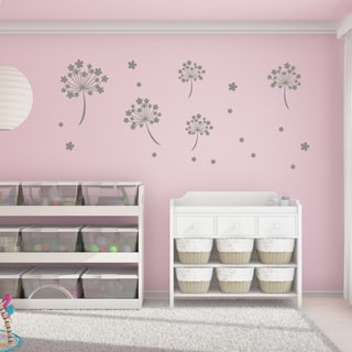 Flower Seeds Sticker Mural Vinyl Art Home Decor Wall Decal