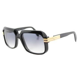 66b7124805b6 Cazal Cazal 607 001SG Vintage Black Plastic Square Grey Gradient Lens  Sunglasses