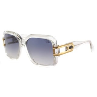 Cazal Cazal 623 065SG Vintage Crystal Plastic Square Grey Gradient Lens Sunglasses
