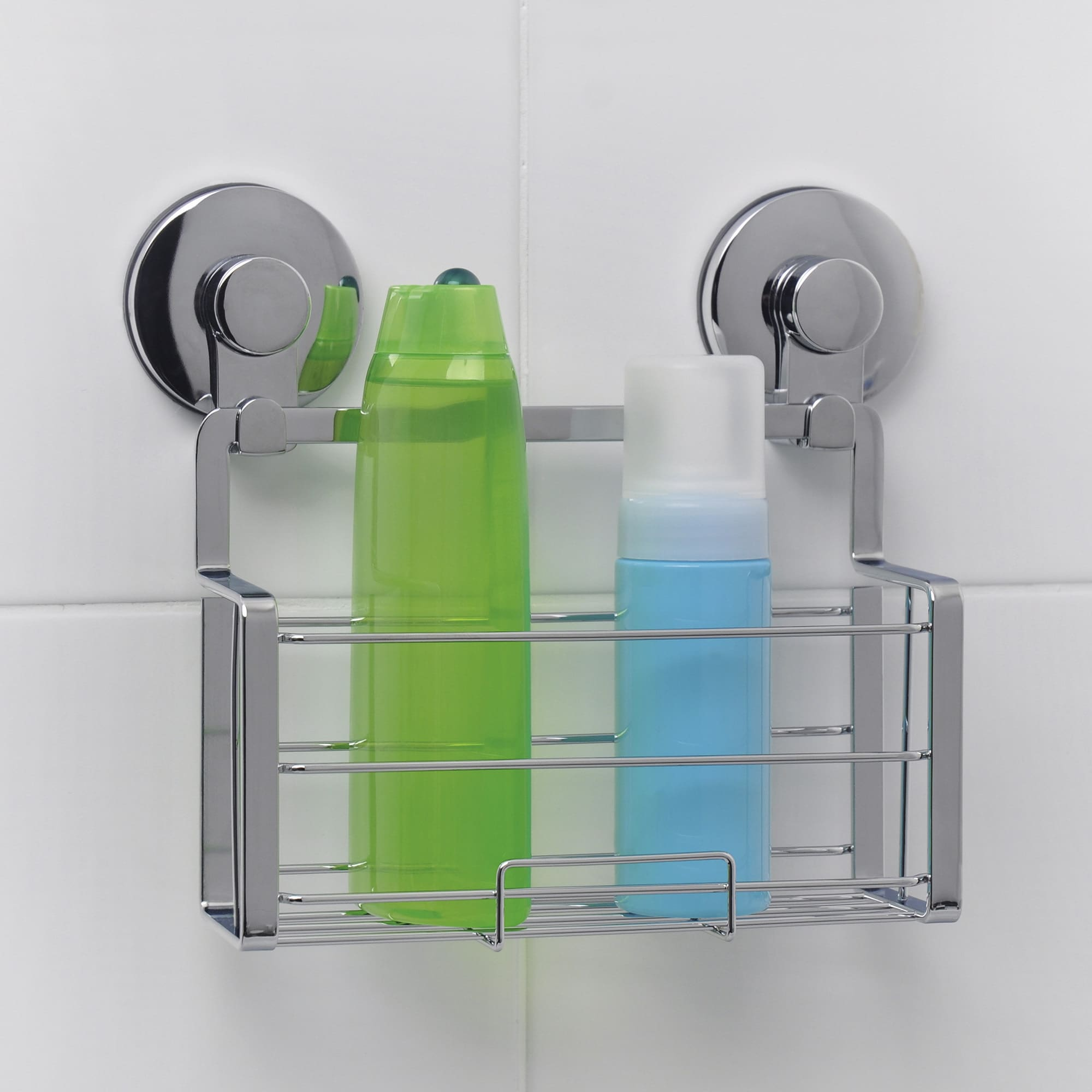 Everloc Solutions Stainless Steel Suction Cup Shower Caddy N A