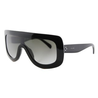 Celine CL 41377 807 Black Plastic Grey Gradient Lens Sunglasses