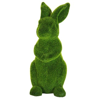 Moss Coated Resin 16-inch Rabbit