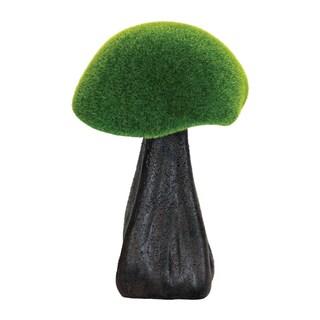 Exhart 10-inch Moss-coated Mushroom Garden Statue