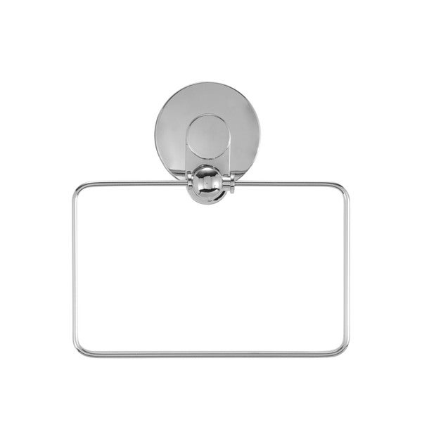 Everloc Solutions Stainless Steel Suction Cup Towel Ring