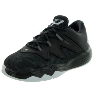 Nike Jordan Toddlers' Cp3.Ix Bt Black/Metallic Silver/Anthrct Basketball Shoe