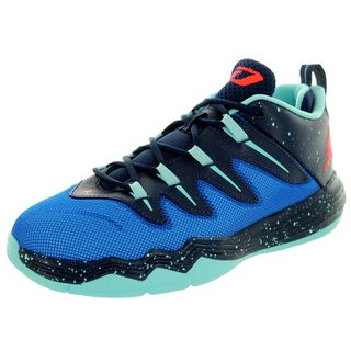 Nike Kids' Jordan Cp3.Ix Bp Soar/Infrared 23/Midnight Navy/Cp Basketball Shoes