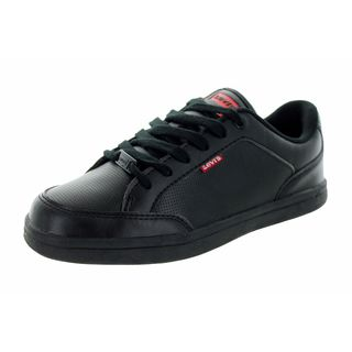 Levi's Kids' Aart Core Black Polyurethane Monochrome Casual Shoes