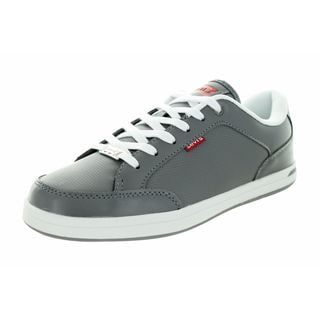 Levi'S Kids Aart Core Pu Grey/White Leather Casual Shoe