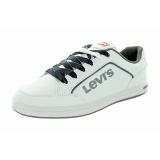 Levi's Kids Aart Novelty White/Grey Casual Shoe