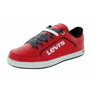 Levi'S Kids Aart Novelty Red/White Casual Shoe