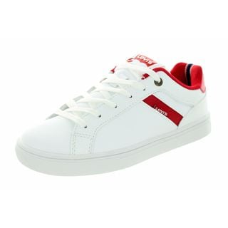 Levi's Kids' Henry Core White/Red Casual Shoes