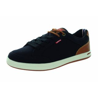 Levi's Kids Aart Black/Tan Canvas Casual Shoe