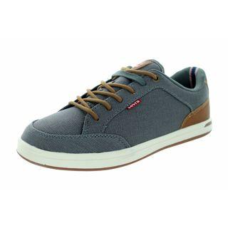 Levi's Kids Grey Canvas Casual Walking Shoe
