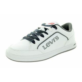 Levi's Kids Aart Novelty White/Grey Casual Shoe