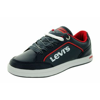 Levi's Kids' Aart Novelty Navy/White Leather Casual Shoes