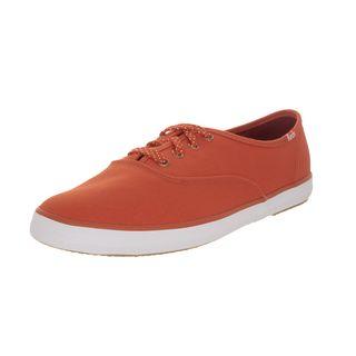 Keds Women's Orange Canvas Casual Shoe