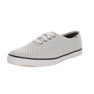 Keds Women's White Canvas Casual Walking Shoe