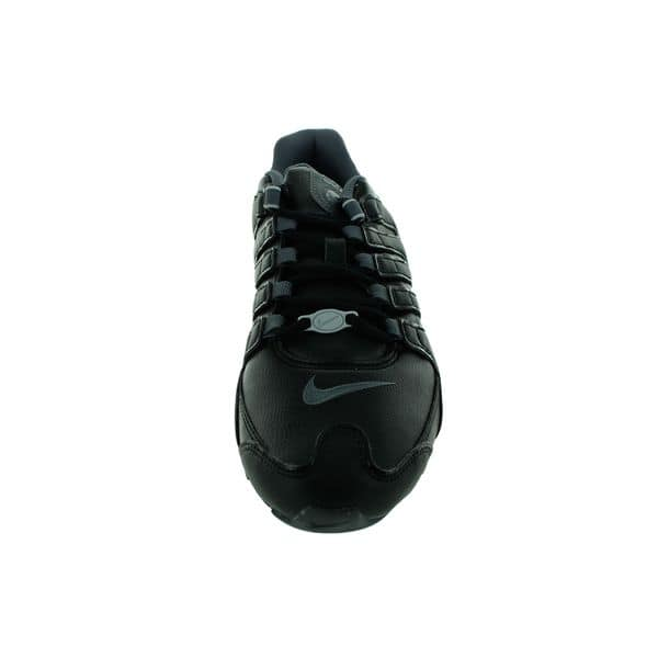 fashion classic shoes discount shop Shop Nike Women's Shox NZ EU Black Leather Running Shoes ...