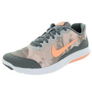 Nike Women's Flex Experience Grey Mesh Running Shoe