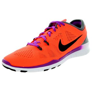 Nike Women's Free Orange Mesh Training Shoe