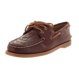 Sperry Women's Burgndy Leather Top-sider Boat Shoe