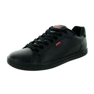 Levi's Men's Westwood Black Mono Chrome Synthetic/Leather Casual Shoe