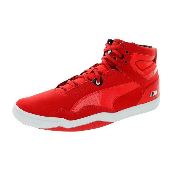 Shop Puma Men s Preciso Mid BMW High-risk Red Casual Shoes - Free ... b53aa8c42ba7