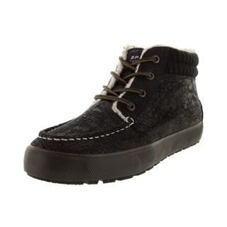 Sperry Men's Black Top-Sider Bahama Lug Chukka Casual Shoe