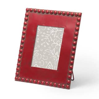 Red Beaded Frame 5x7