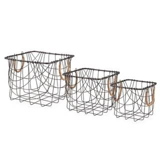 Brooklyn Square Baskets (Set of 3)