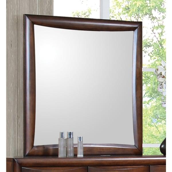 Coaster Company Hillary Maple Mirror - Brown
