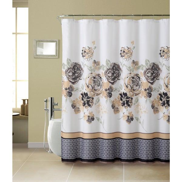 VCNY Tabitha Textured Shower Curtain