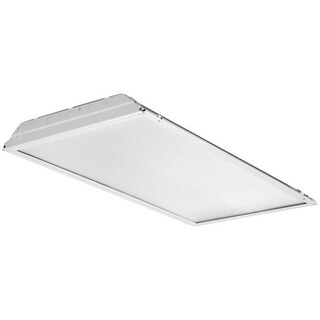 Lithonia Lighting 2GTL2 A12 120 LP840 4000K White LED 2 x 2 ft. White Lay-In Troffer Light with Prismatic Lens