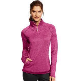 Champion Women's Tech Fleece 1/4 Zip Pullover