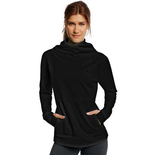 Champion Women's Tech Fleece Funnel Neck Sweater