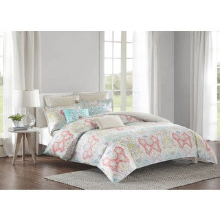 Echo Design Cyprus Cotton Duvet Cover Mini 3-Piece Set