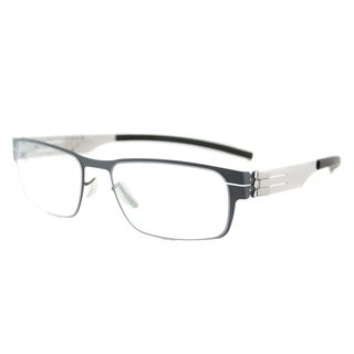 Ic Berlin Rast Taubenblau Pearl Metal 51-millimeter Rectangle Eyeglasses