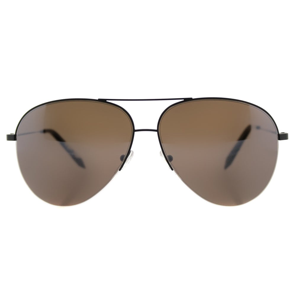 96999d718 Shop Victoria Beckham VBS 90 C39 Classic Victoria Brown Metal Aviator  Galaxy Mirror Zeiss Lens Sunglasses - Free Shipping Today - Overstock -  12362899