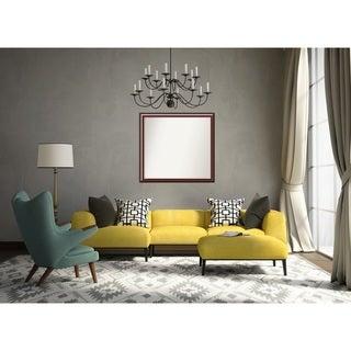 Wall Mirror Choose Your Custom Size - Large Cambridge Mahogany Wood