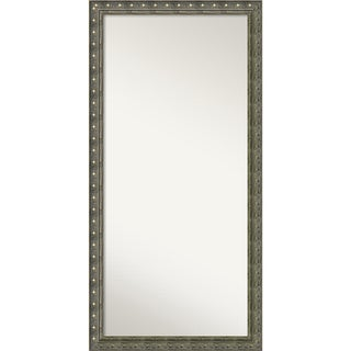 Wall Mirror Choose Your Custom Size - Oversized, Barcelona Champagne Wood