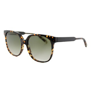 Victoria Beckham VBS 104 C02 Refined classic Tortoise Plastic Square Brown Gradient Zeiss Lens Sunglasses