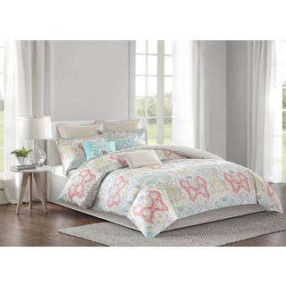 Echo Design Cyprus Cotton Comforter 4-Piece Set|https://ak1.ostkcdn.com/images/products/12362930/P19189326.jpg?impolicy=medium