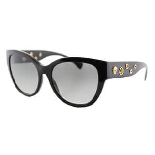 Versace VE 4314 GB1/11 Black Plastic Cat-Eye Grey Gradient Lens Sunglasses|https://ak1.ostkcdn.com/images/products/12362937/P19189338.jpg?impolicy=medium