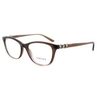 Versace VE 3213B 5165 Brown Gradient Plastic 52-millimeter Cat-eye Eyeglasses