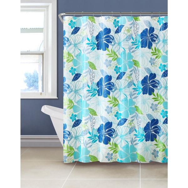 VCNY Jasmine 13 Piece Shower Curtain Set